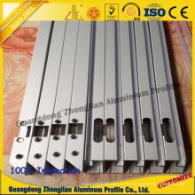 Profil en aluminium anodisé adapté aux besoins du client d'aluminium de profil d'extrusion