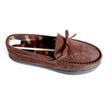 Мужская обувь из мокасина с завязкой в бантике