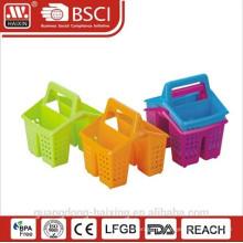 Venda quente e boa qualidade de suporte de talheres de plástico com alça
