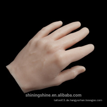 Silikon Tattoo Training Hand Praxis Hand Tattoo Praxis Haut Hand