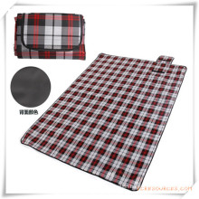Outdoor Camping Plaid Dampproof Picnic Mat for Promotion