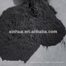 carbón activado en polvo para la decoloración del azúcar