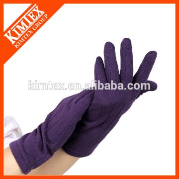 Winter knit microfiber gloves