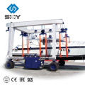 Mobile boat hoist, yacht lift crane More questions, please send message to me!