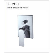 Mezclador de baño incorporado Bd3910f 35mm de la sola palanca del latón