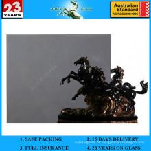 Vidro flutuante cinza de 4 a 12 mm com AS / NZS 2208