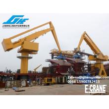 E-Crane para plataforma de transbordo