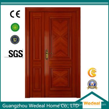 Puertas de alta calidad interior / exterior de madera de la chapa modificada para requisitos particulares