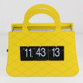 Bolso Mental Amarillo Flip Clock