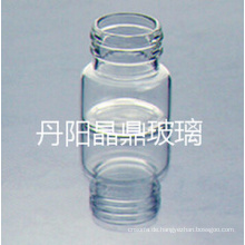 Serie von hoher Qualität geschraubt klare röhrenförmige Glasflasche mit Resisdent Cap
