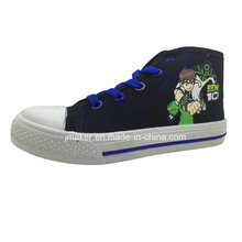 Zapatillas de deporte de dibujos animados Cool High Tobillo (X169-S & B)