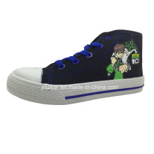 Cool Cartoon High Ankle Children Sneaker (X169-S&B)