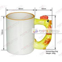 Taza de cerámica de sublimación taza de regalo