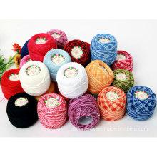 Tejido a mano Crochet Hilo Bordado Encaje Crochet Doll Algodón Hilo