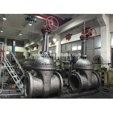 API WCB Gear Operation Flanged Gate Valve