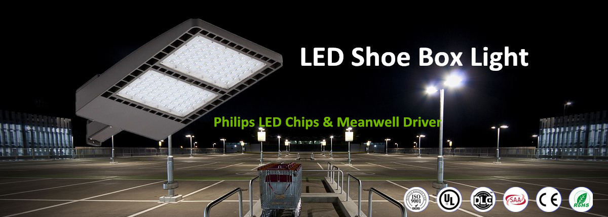 shoebox led lights