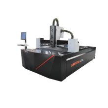 máquina de corte por láser de fibra metálica servo motor