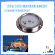 Hot vendre 6w IP68 RVB led lumière marine pour yacht, marine, bateau, piscine lumière