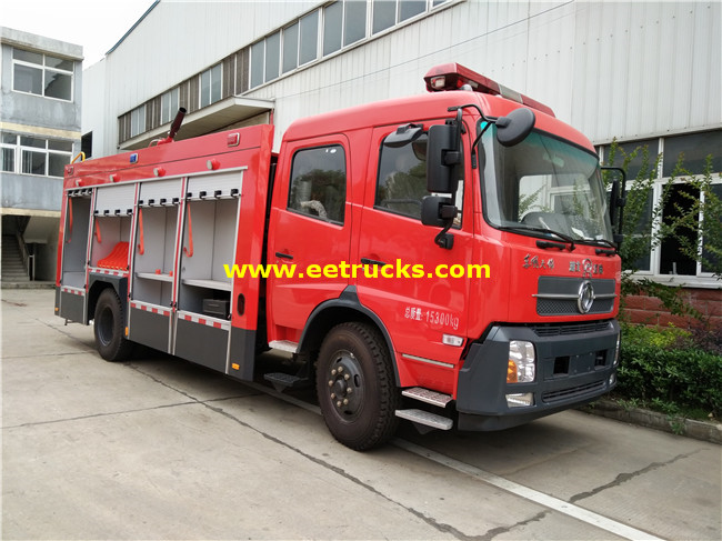 210HP Combined Fire Fighting Trucks