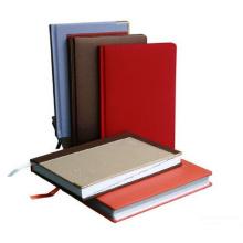 Impression chaude de cahier à couverture dure polychrome de vente chaude, service d'impression