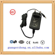 Wall mounted 10v 1a power supply adapter