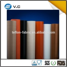 Qualified PTFE Coated Fiberglass Fabric Cloth PTFE coated both sides used heat sealing machine