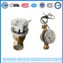 Contadores de 8 dígitos Medidor de agua de salida de impulsos de chorro Singe