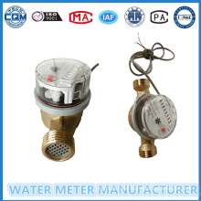 8 Digits Counters Singe Jet Pulse Output Water Meter