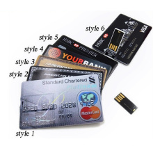 Best Business Promotional Gift Credit Card USB Flash Drive