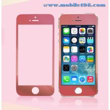 Protecteur d'écran en verre trempé rouge pour iPhone Mobile Phone