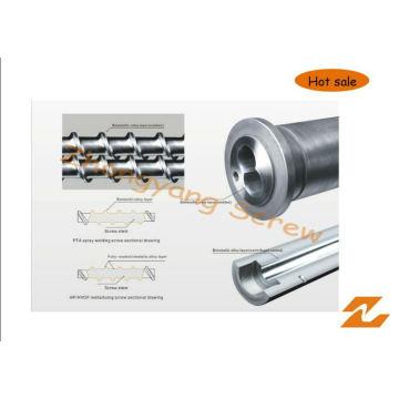 Vis bimétallique de Zyt420 et baril pour la longue vie fonctionnante de machine en plastique