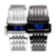 Luxus-Mode Edelstahl-Back Iron Man LED-Uhr, Herrenuhren