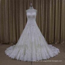 Ral Probe nach Maß koreanische Styel Hochzeitskleid
