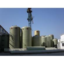 Réservoirs de stockage d'acides ou d'autres liquides corrosifs