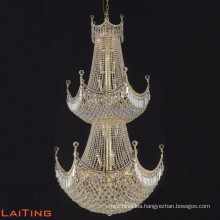 Luxury grand extra size large black crystal chandelier for projects sale 62037