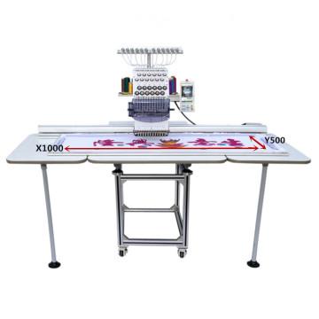 Новый дизайн машина вышивки одиночная головная плоская конкурентоспособная цена вышивка лучшей цене конструкция OEM-1201/1501CL