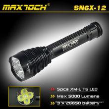 Maxtoch SN6X-12 Super potencia Cree LED Heavy Duty linternas