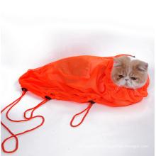 Multifunctional Mesh Pet Grooming Bag Cat Restraint Bath Bag