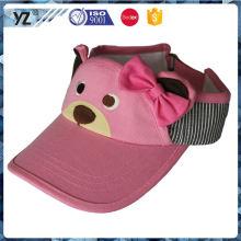 Fabrik Direktverkauf Originalität Sommer Werbe-Sonnenblende Kappe für Verkauf