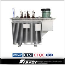 El uso de electricidad eléctrica oi tipo 1250 kva transformador