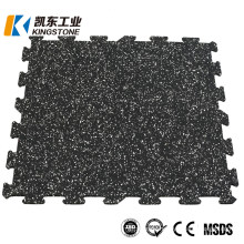 High Quality 3-12mm Thick Rubber Gym Flooring Mat for Exercise Room