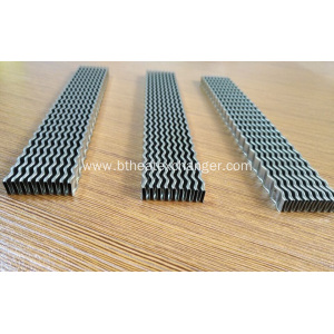 China Stainless Steel Wavy Fins Manufacturers