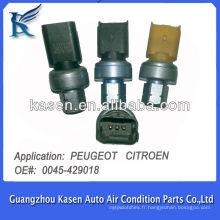 Transducteur à pression automatique pour PEUGEOT CITROEN 0045429081