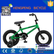 Xingtai factory kid bike cycle 12'' China baby bicycle sport style 4 wheel cycle BMX bike on Fair show