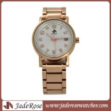 Hochwertige Edelstahl Uhr Mode Herren Business Watch