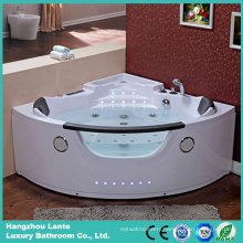Acrylic Water Massage Bathtub with American Waterfall (TLP-678)