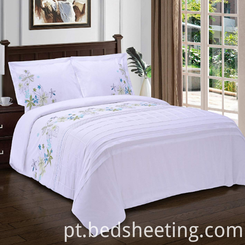 Hotel Cotton Sateen Embroidered Duvet Cover