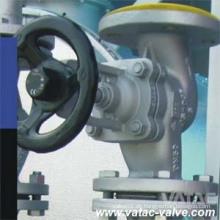 Edelstahl & Cast Steel Wcb / Ss316 Faltenbalg Sealing Gate & Globe Valve