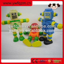 Venta caliente de madera caminando robot de juguete