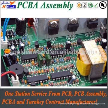 12 v sube la placa de circuito impresa con fr4 94v0 PCB de aluminio material de la pc con el montaje de leds